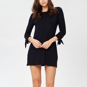 Tie Accent Shift Dress